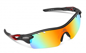 Hodgson Polarized Sports Sunglasses with 5 Interchangeable Lenses