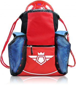 Soccer Bag With Ball Holder Pocket