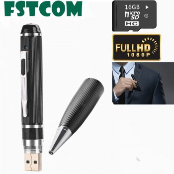 Spy Camera Pen,FSTCOM 16GB 1080P HD