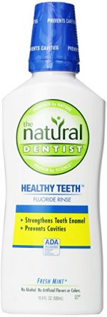 The Natural Dentist Healthy Teeth Fluoride Mouthwash