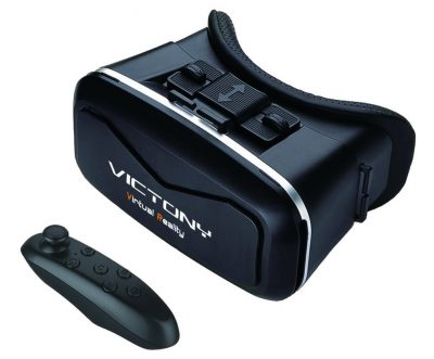 VICTONY 3D VR headset,3D VR virtual reality Glasses Movie Game