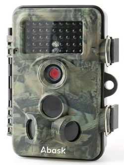 Wildlife Camera, Abask Trail Surveillance Waterproof Digital Camera