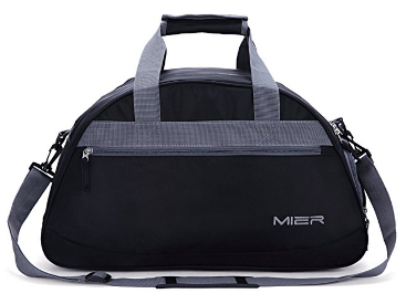 "MIER 20"" Sports Gym Bag Travel Duffel Bag with Shoes Compartment for Women,Men"
