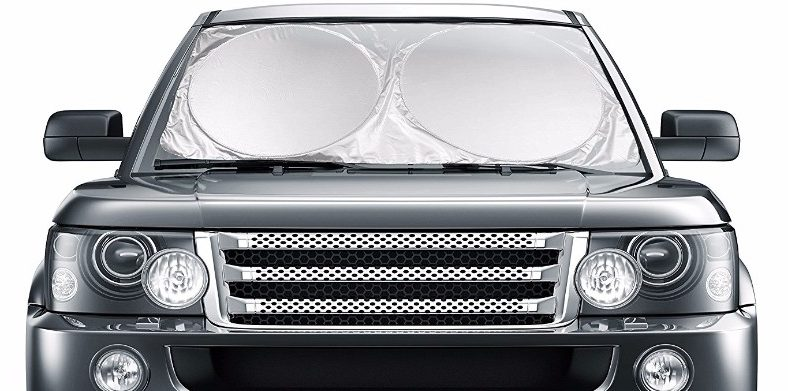 1 - Car Windshield Sunshade Jumbo (63 x 35)
