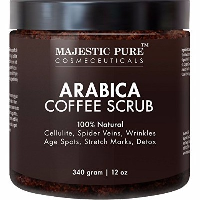 1 - Majestic Pure Arabica Coffee Scrub