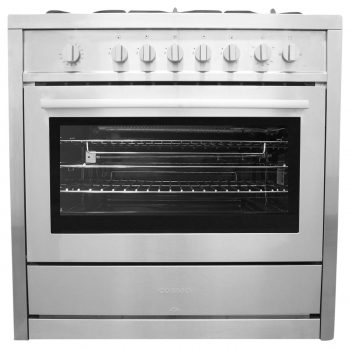 36 in. Gas Range with 5 Italian Made Burners