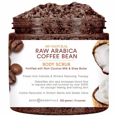 4 - Body Essentials Arabica Coffee & Coconut Milk Scrub