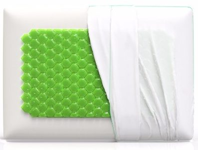 5 - Equinox Cooling Gem Memory Foam Pillow