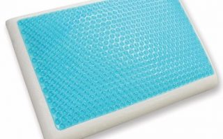 6 - Classic Brands Reversible Cool Gel And Memory Foam Pillow