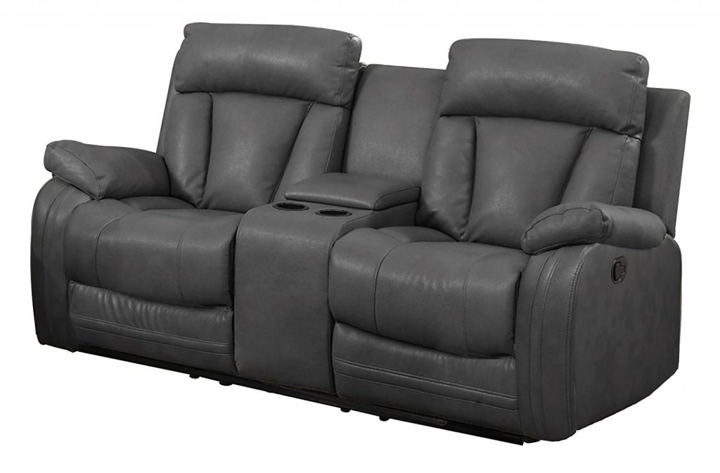NHI Express Benjamin Reclining Sofa  sc 1 st  TheZ9 & Top 10 Best Leather Reclining Sofas in 2017 Reviews islam-shia.org