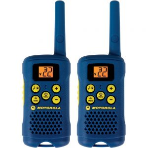 Motorola Talkabout two way radio 16 mile range 22 channel