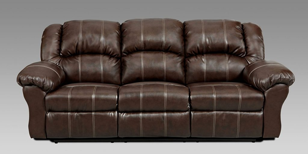 5. Roundhill Furniture Brandan Reclining Sofa & Top 10 Best Leather Reclining Sofas in 2017 Reviews islam-shia.org