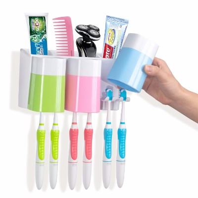 8 - Warmlife Anti-Dust Toothbrush Holder