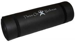 Thrive on Wellness Thick Exercise Mat