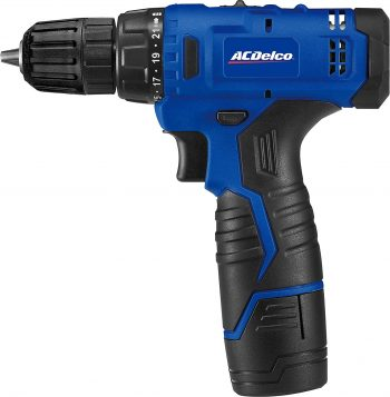 ACDelco ARD12126S1 12V Lithium-ion Cordless 2-Speed Drill Driver Set