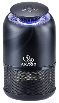 AKAGO Indoor UV Light and Suction Fan Mosquito