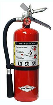 Amerex B441, 10lb ABC Dry Chemical Class A B C Fire Extinguisher