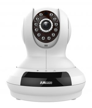 Amgaze HD Pan Tilt IP Wireless Security Camera