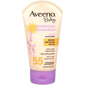Aveeno Baby Continuous Protection Lotion Sunscreen