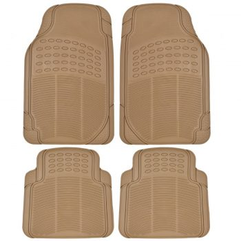 BDK Universal Fit 4-Piece Heavy Duty All Weather Protection Floor Mat