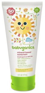 Babyganics 50 Spf Sunscreen Lotion