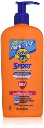 Banana Boat Sunscreen Sport Family Size Broad Spectrum Sun Care Sunscreen Lotion