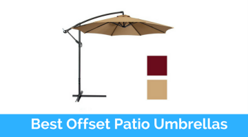 Check Out Top 10 Best Offset Patio Umbrellas In 2017 Reviews
