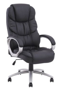 bestoffice ergonomic pu leather high back office chair