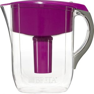 Brita 10 Cup Grand BPA Free Water Pitcher with 1 Filter