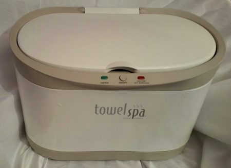 Brookstone TowelSpa Towel Warmer