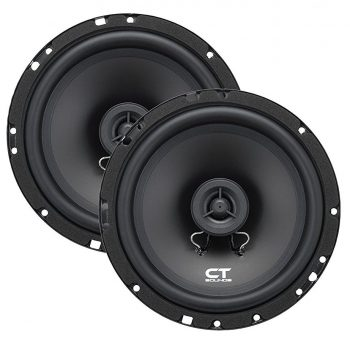CT Sounds Bio 6.5-Inch 2-Way Silk Dome Coaxial Car Speakers
