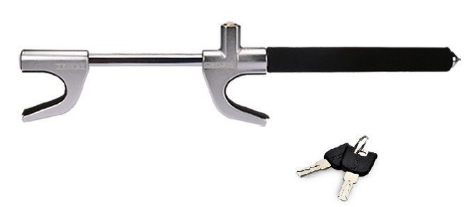 Car Lock ,Adjustable Car Steering Wheel Lock Self-defense Broken Windows