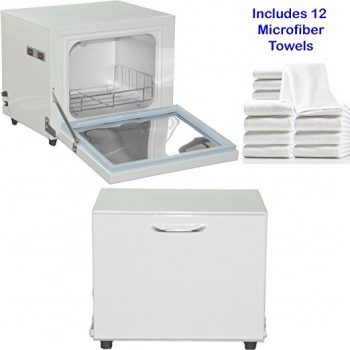 compact 2in1 ultraviolet sterilizer and towel warmer cabinet