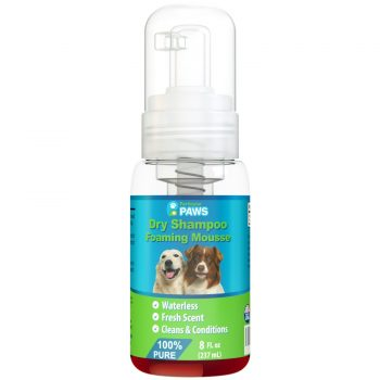Dry Shampoo for Dogs - Waterless Foaming Mousse
