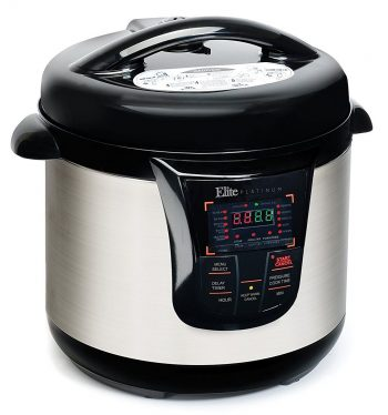 Elite Platinum EPC-808 Maxi-Matic 8 Quart Electric Pressure Cooker