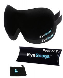EyeSnugs Sleep Mask Pack of Two