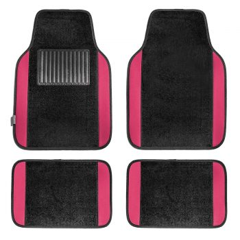 FH Group F14407PINK Premium Full Set Carpet Floor Mat