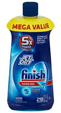 Finish Jet-Dry Dishwasher Rinse Aid Agent