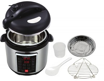 GoWISE USA GW22623 1300W 4th-Generation Electric Pressure Cooker