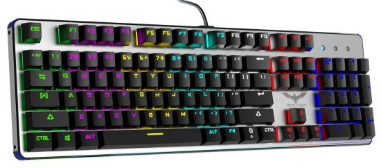 HAVIT RGB Backlit Wired Mechanical Gaming Keyboard
