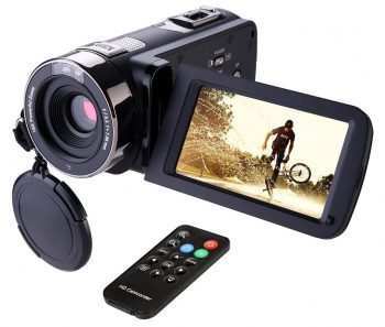 Hausbell 302S FHD Camcorder