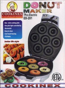 Home N Kitchenware Collection Electric Donut Maker, Mini Donut Maker