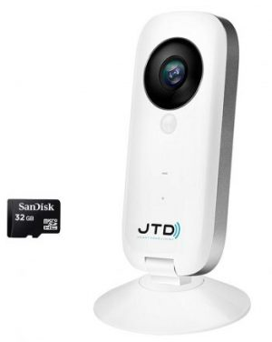 JTD CAM 720p HD Wireless Smart Home Day Night Security Surveillance Camera
