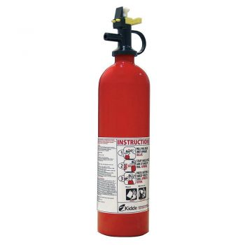 KIDDE 4104000 Fire Extinguisher, Dry Chemical, BC, 5B:C