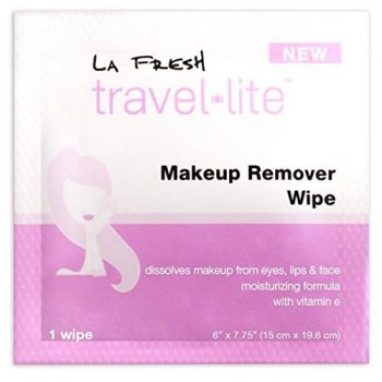 La Fresh Makeup Remover Cleansing Travel Wipes Natural