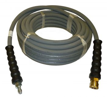 Layers of High Tensile Wire Braided Rubber Wrapped Pressure Washer Hose