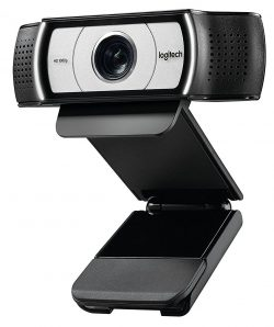 Logitech C930e USB Desktop or Laptop Webcam