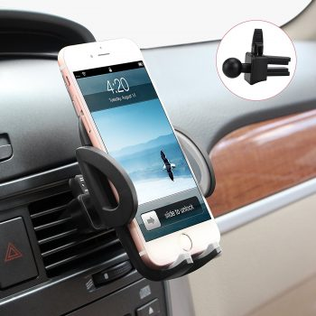 M-BETTER Universal Smartphones Car Air Vent Mount Holder Cradle