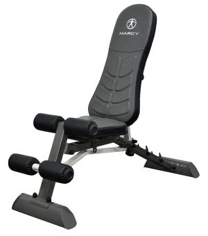 Marcy Deluxe Foldable Utility Bench Gym