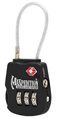 Maxpedition Gear Tactical Luggage Lock